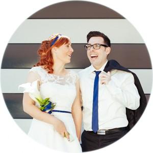 Hochzeitsfoto Wels Brautpaar