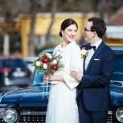 ein glücklich verheiratetes Paar